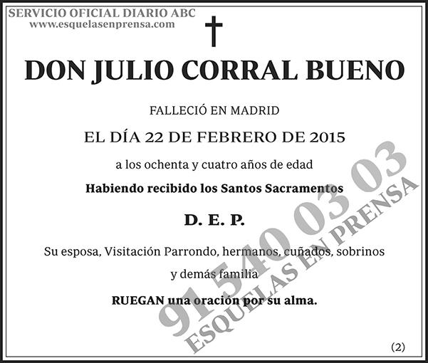 Julio Corral Bueno